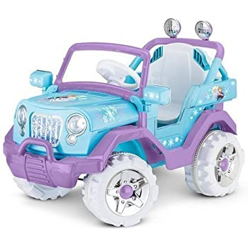 fisher price power wheels frozen jeep wrangler toys games. Black Bedroom Furniture Sets. Home Design Ideas