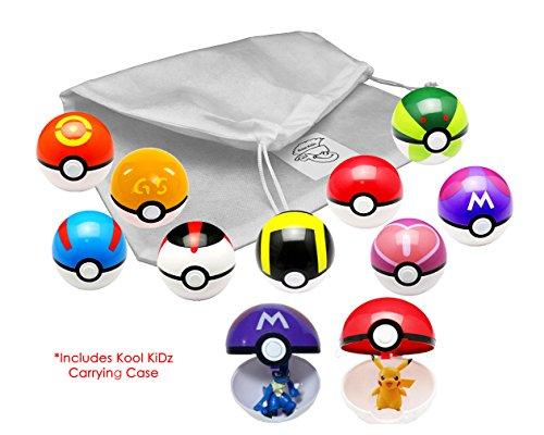 Kool Kidz 9 Pieces Different Style Ball  9 Pieces Figures Plastic Super Anime Figures Balls For Kids Toys Balls Kit