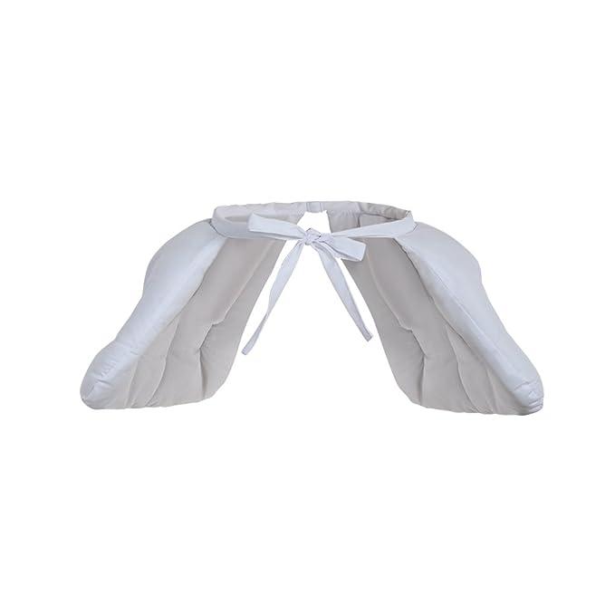 Versione aggiornata Cosplayitem Ragazza Donne Petticoat per Stile Rococ/ò Dress Sottogonna Abito Vittoriano Medievale Bianco