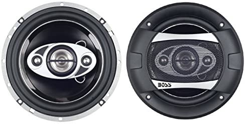 BOSS Audio Systems P65.4C Car Speakers – 350 Watts Of Power Per Pair And 175 Watts Each, 6 x 9 Inch , Full Range, 2 Way, Sold in Pairs, Easy Mounting