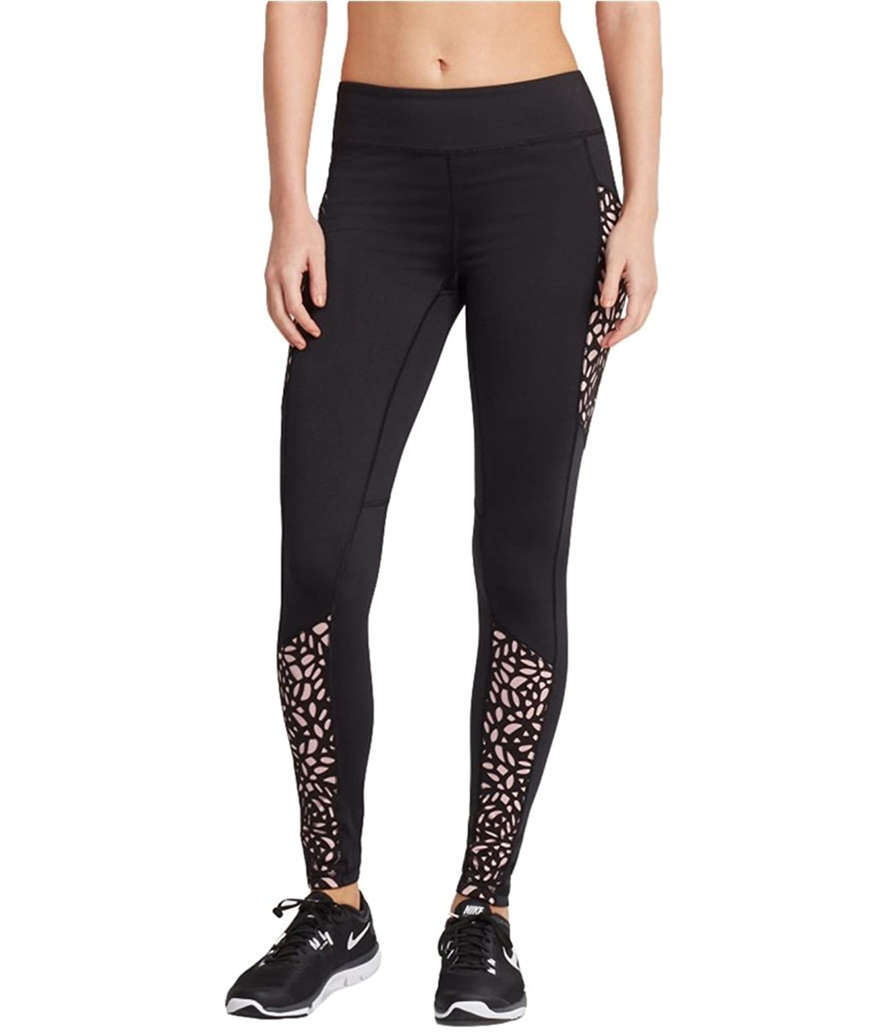 Aeropostale Womens Active Laser Cut Casual Leggings