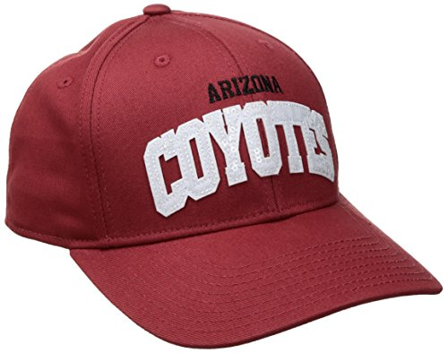 fan products of NHL Arizona Coyotes Women's SP17 Sequenced Structured Adjustable Cap, Red, One Size