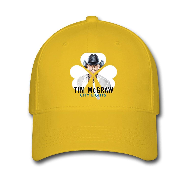 Woman Men Cotton Tim McGraw City Lights Adjustable hats Baseball caps
