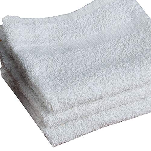 100 Towels Terry Cloth Cleaning Towels Bar Tanning Gym Salon Janitorial Reusable 12x12 Business & Industrial Cleaning Supplies by Unknown (Image #2)