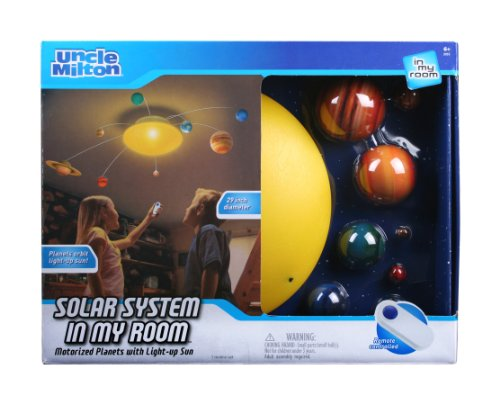 (Solar System In My Room Remote Control Home Décor Night Light )