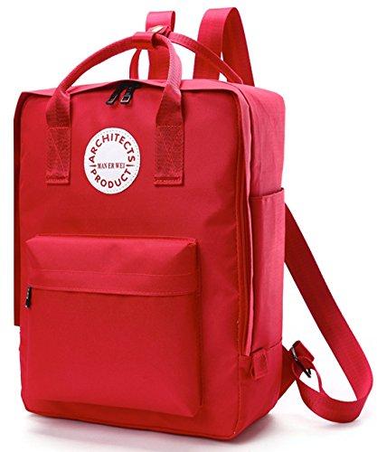 Longzibog Dual verstellbare Schultergurte und Hängeschlaufenband Mode Damen accessories hohe Qualität Einfache Tasche Schultertasche Freizeitrucksack Tasche Rucksäcke Saphirblau o61cjt9Lk