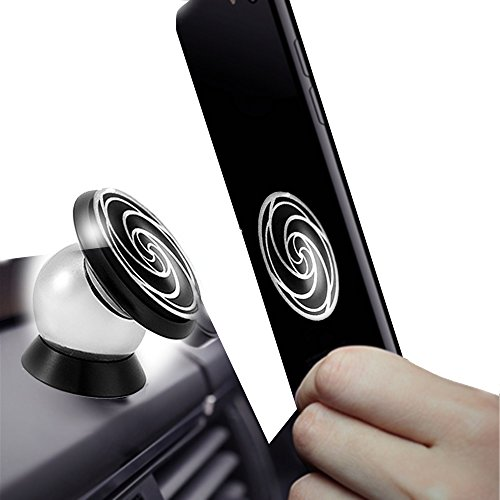 Magnetic phone holder for car -720° Rotation - Ultraslim Magnetic car phone holder For iPhone 7/7 Plus/6/6 Plus, Samsung Galaxy S7/ S7 Edge/S6/S6 Edge,Samsung Tablet