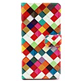 Sony Xperia Z3 Case, Premium PU Leather Wallet Flip Protective Skin Case with Magnetic Closure for Sony Xperia Z3 with Card Slot 5.2inch(Pattern 8)