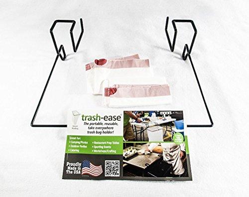 trash ease 13 gallon portable trash bag holder ebay. Black Bedroom Furniture Sets. Home Design Ideas
