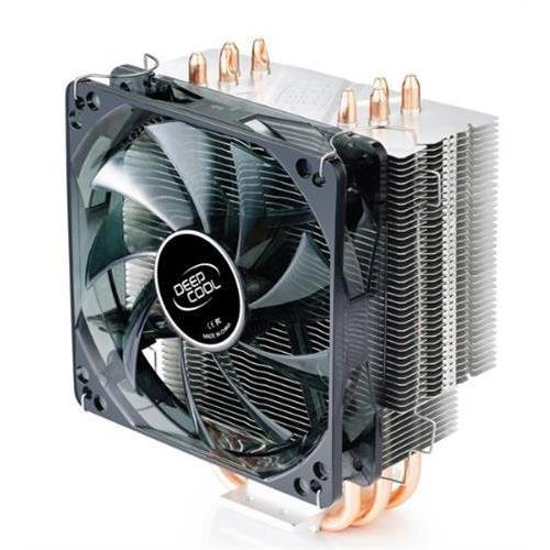 DEEPCOOL GAMMAXX 400 120mm CPU Cooler for Intel LGA 2011/1366/1156/1155/1151/1150/775 & AMD Socket FM2/FM1/AM3+/AM3/AM2+/AM2/940/939/754 (Intel Lga 1150 Cpu Cooler)