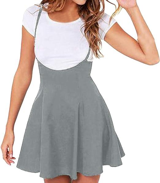 RTYou Dress for Women V Neck Boho Floral Print Off Shoulder Sleeveless Casual Slim Mini Beachwear Dress Sundress