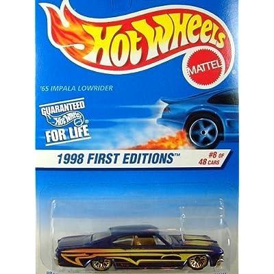 Hot Wheels 1998 65 Impala Lowrider Card Variation: Toys & Games