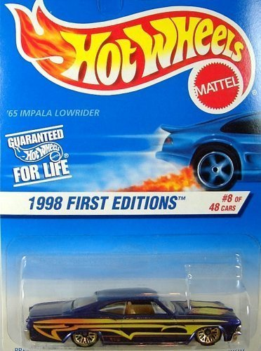 (1998 Hot Wheels '65 Impala Lowrider Card)