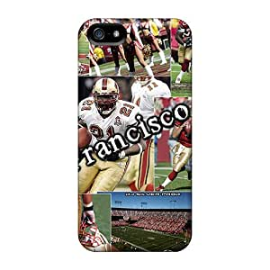 Awesome IJs1490ERzH Strahan Defender Tpu Hard Case Cover For Iphone 5/5s- San Francisco 49ers