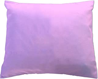 product image for SheetWorld Crib Toddler Pillow Case, 100% Cotton Flannel, Lilac, 13 x 17, Made in USA