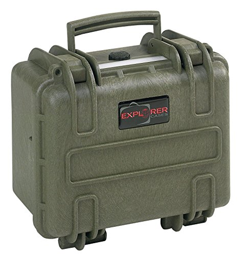 Explorer Cases 2717 GE Waterproof Dustproof Multi-Purpose Protective Case Empty, Military Green by Explorer Cases