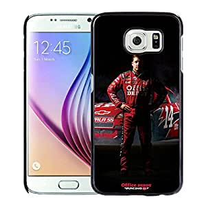 Beautiful Designed Cover Case For Samsung Galaxy S6 With tony stewart Black Phone Case