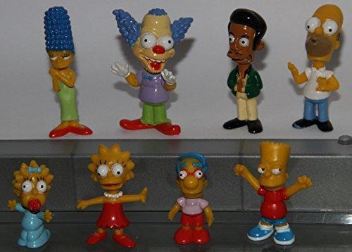 Simpsons Body Bobble Series - Figurines Set of 8 - (Krusty Bobble Head)