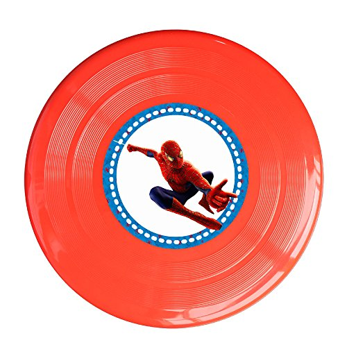 Discovery Wild Spider Boy Plastic Flying Sport Discs - Frisbee Like Toy For Outdoor Game Play - Sports For All Ages - Party Fun -