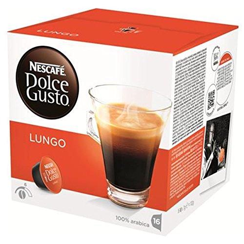 Nescafe Dolce Gusto lungo 16 tazas 3x | Peso total 600 gr: Amazon ...