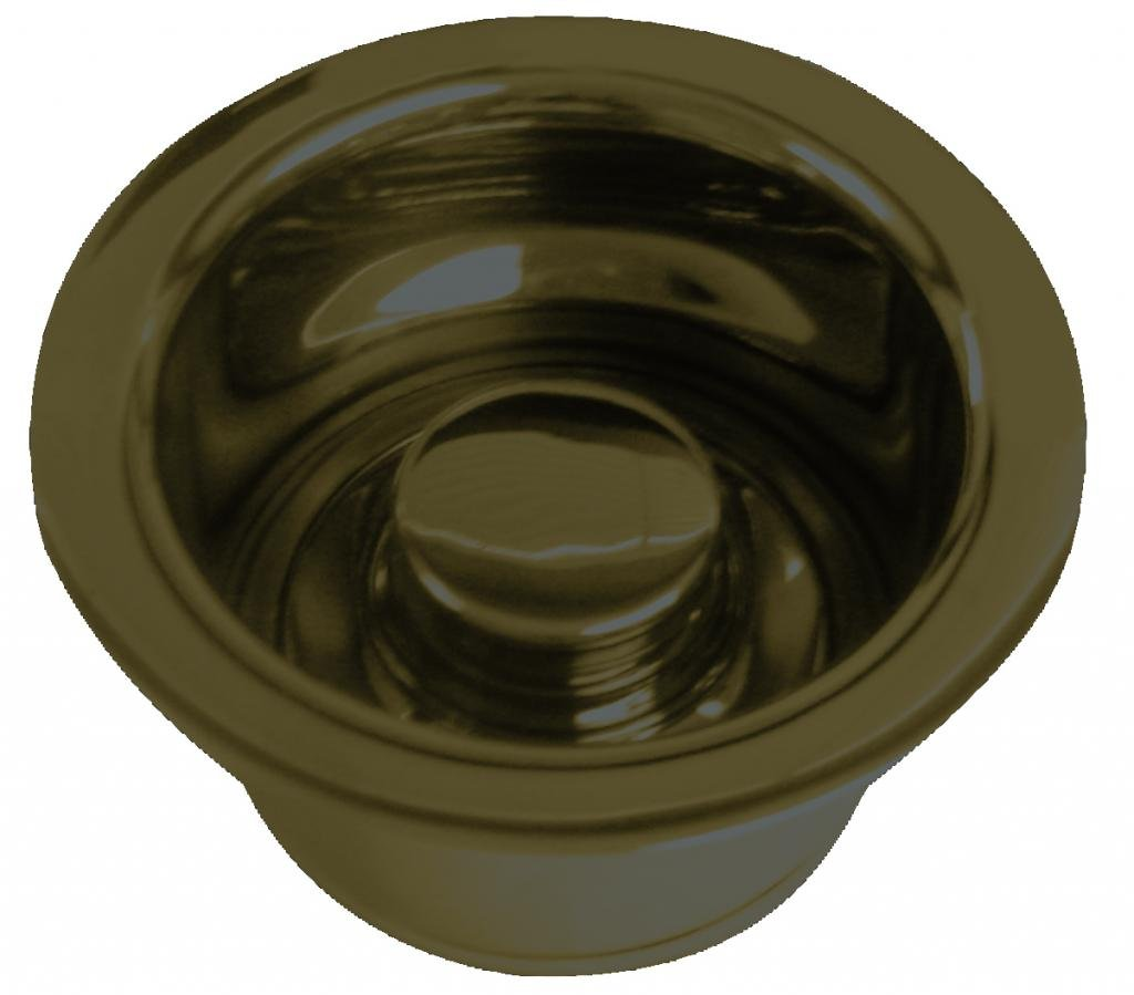 InSinkErator Style Extra-Deep Disposal Flange and Stopper in Oil Rubbed Bronze