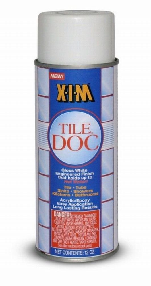 Rust-Oleum Tile Doc Acrylic Gloss White 12 Oz by Xim