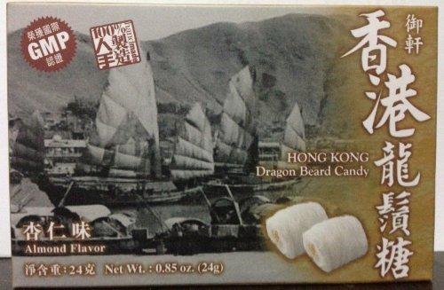 Hong Kong Style Dragon Beard Candy 100% Hand Made 24g x 2 boxes