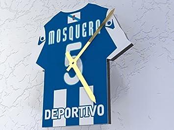 MyShirt123 Deportivo la Coruña FC Club de fútbol - Camiseta de fútbol Reloj - Cualquier Nombre y Cualquier número - Elegir.: Amazon.es: Deportes y aire ...