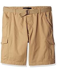 Rocawear Mens Big-Tall Stretch Ripstp Short