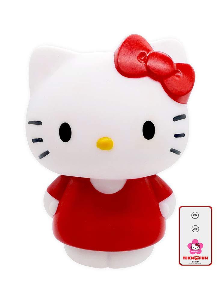 Hello Kitty - LED Lampe, Rot