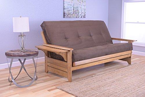 rosemount-full-size-sofa-futon-honey-oak-wood-frame-with-suede-innerspring-mattress-chocolate