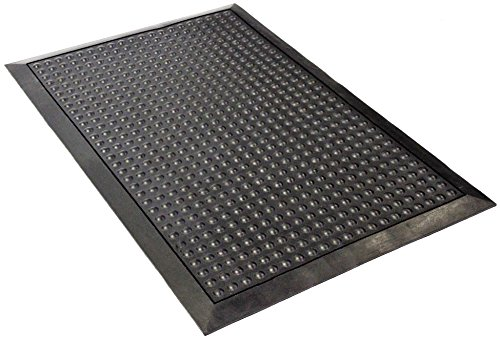 Envelor Home and Garden Bubble Scraper Rubber Floor Mat Heavy Duty Kitchen Floor Mat Durable Comfort Anti Fatigue Mat for Standing Desk Indoor Outdoor Industrial Floor Mat 24 x 36 Inches from Envelor Home and Garden