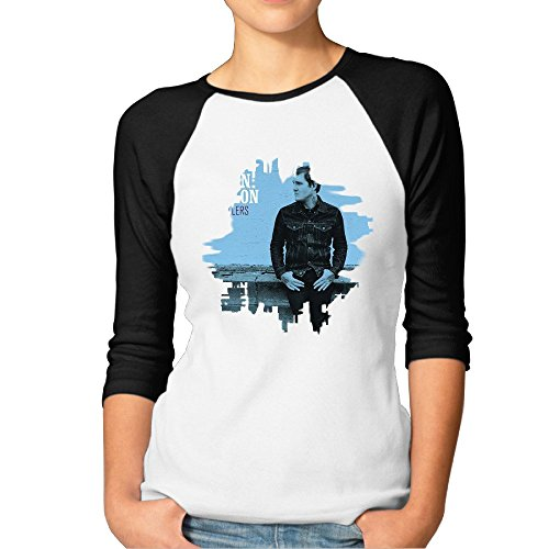 Brian Fallon Painkillers Women's Normal Fit Half Sleeve Tshirts Tee Sexy
