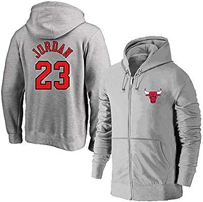 Chicago Bulls 23# Michael Jordan Zipper
