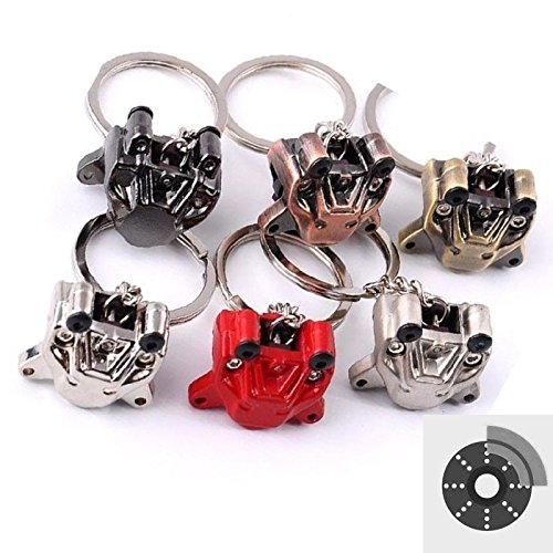 Brake Caliper Disc Pump Racing Sport 2 Pot 4 Pot 6 Pot Brake Caliper Car Motorcycle Auto Racing Sport Performance Parts Keychain Keyring For Universal Key aegarage1986® aegarage19861986136