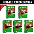 FujiFilm Fuji FP-100C Instant Color 10 Exposure - 5 Pack from Fuji