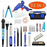 Best low heat soldering iron - Soldering Iron Kit Electronics, 33 in 1, 60W Review