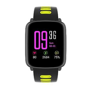 UNOKS Pantalla A Color Impermeable Reloj Inteligente Ritmo Cardíaco, Monitoreo De Movimiento, Llamada Bluetooth