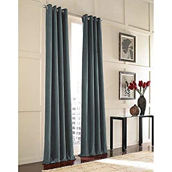 Amazon Com Curtainworks Messina Grommet Cotton Curtain