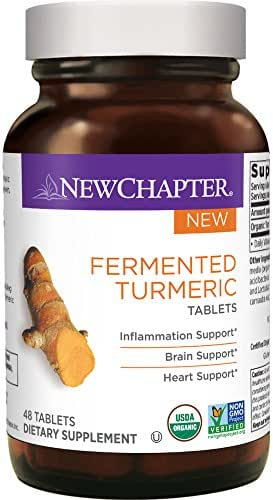 Vitamins & Supplements: New Chapter Fermented Turmeric