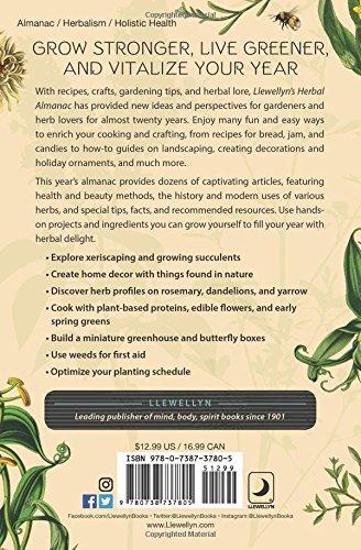Llewellyn 39 s 2018 herbal almanac gardening cooking for Health craft cookware reviews