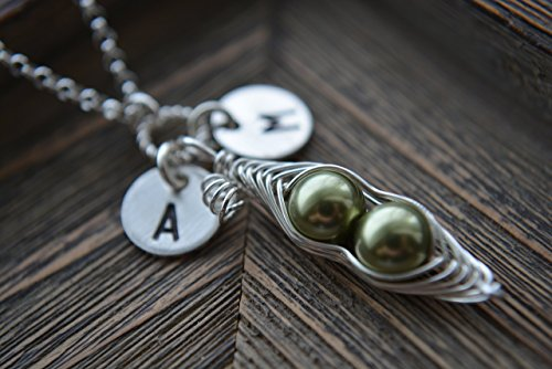 personalized-23or-4-peas-in-a-pod-necklace-in-sterling-silver-choose-your-initials-and-peas-color-be