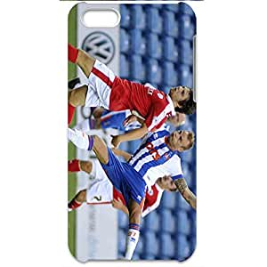 Excited Play Football Moment 3D Barnsley Football Club Lightweight Protective Back Hard Phone Case For Iphone 5c