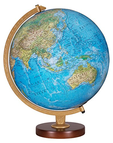 Replogle Globes Livingston Globe, 12-Inch, Blue Illume by Replogle
