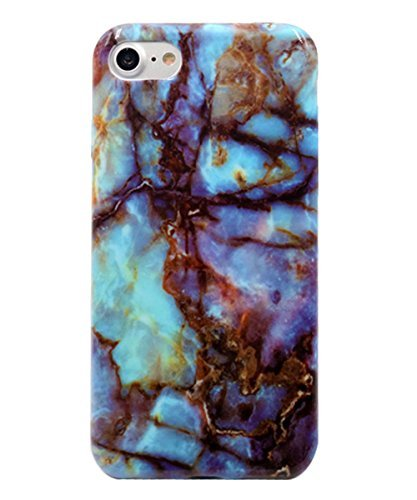 iPhone 7 Case, Wastou(TM) [Marble Stone Pattern Series] Soft TPU Creative Case for iPhone 7 (Magic ...