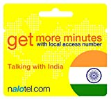 Prepaid Phone Card - Cheap International E-Calling Card $10 for India with Same