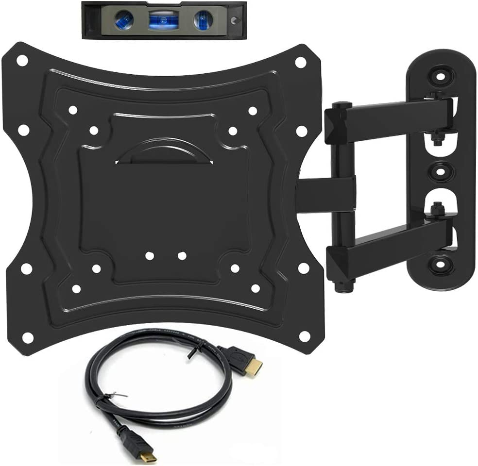 "Everstone TV Wall Mount Fit for Most 20-42"" TVs Full Motion Bracket up to 66 lbs VESA 200 with 16"" Extension Arm,Using for LED,LCD,OLED and Plasma Flat Screen TV,CurvedTV"