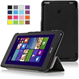 IVSO Slim Smart Cover Case for Asus VivoTab Note 8 M80TA (windows 8.1) Tablet