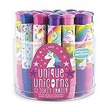 Ooly Click It Eraser - Clickable Pencil Erasers Set - Unique Unicorns