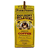 Hula Girl Hula Girl 100% Kona Coffee Ground 7 oz, 196 Gram